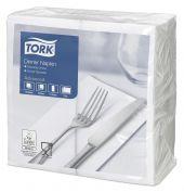 Tork Dinnerservietten Weiß 1/8 Falz Advanced   477554