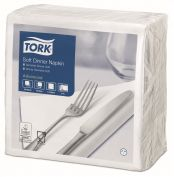 Tork Soft Dinnerservietten Weiß 1/4-Falz Advanced   477577
