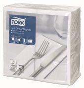 Tork Soft Dinnerservietten Weiß 1/8-Falz Advanced | 477579