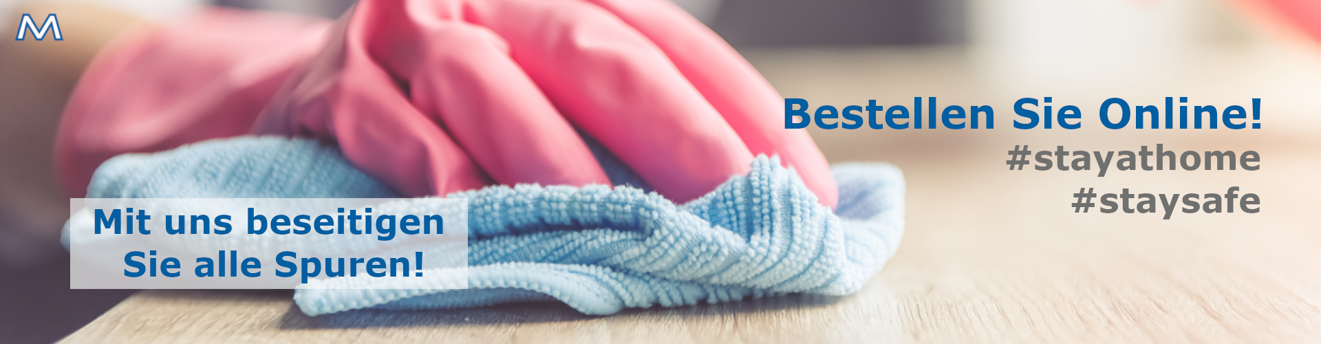 Atemschutzmasken und Gesichtsmaksen jetzt kaufen. Desinfektionsmittel und Desinfektion aller Art jetzt verfügbar. E.MAYR Reinigungstechnik Online Shop!  - Rein aber Richtig.